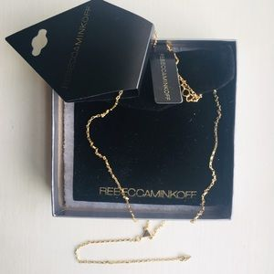 Lovely Rebecca Minkoff Ellie Y-Triangle Necklace
